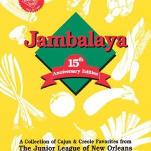 The cover of the Jambalaya cookbook.