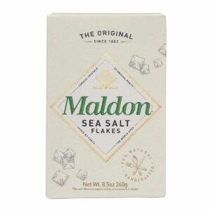A small image of a box of maldon sea salt.