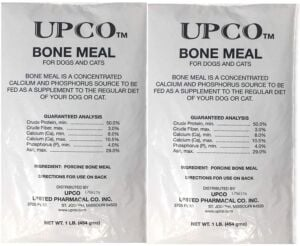Two bags of bone meal
